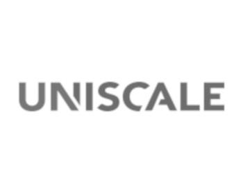 logo uniscale szare